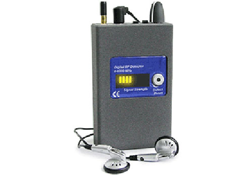 Detector microfonos R/F