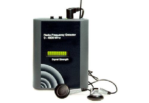 Detector de Microfonos de Bolsillo R/F vip