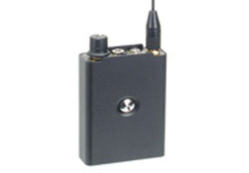 Receptor para microfonos uhf modelo a pilas