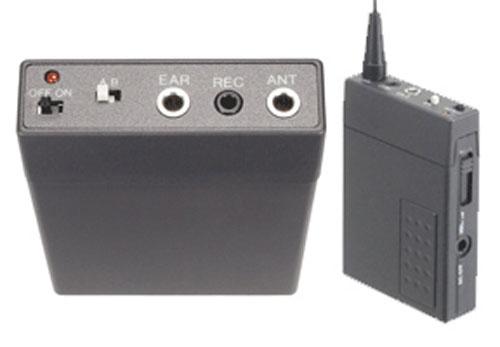 Receptor de Microfono UHF Bateria Recargable